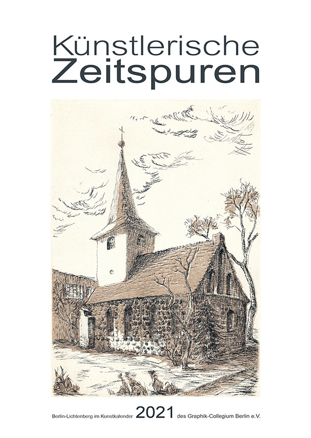 Kunstkalender 2020 des Graphik-Collegiums Berlin e.V. - Künstlerische Zeitspuren - Deckblatt 1