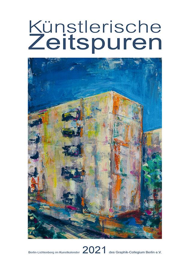 Kunstkalender 2020 des Graphik-Collegiums Berlin e.V. - Künstlerische Zeitspuren - Deckblatt 2