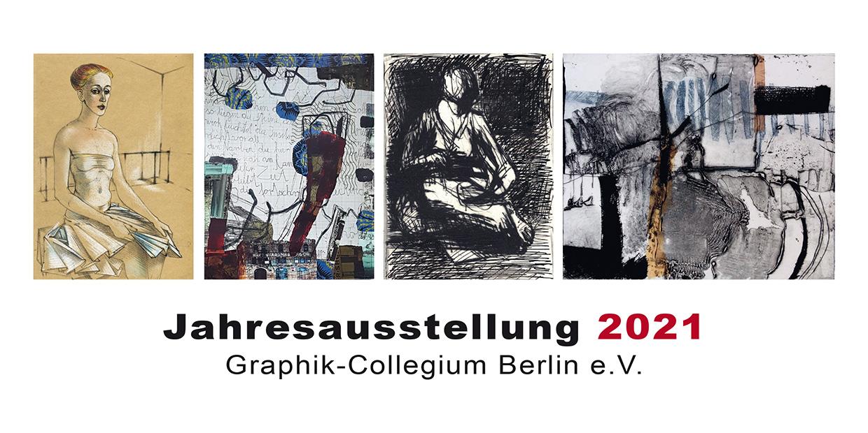 Einladung Jahresausstellung 2ß21Graphik-Collegium Berlin e.V.